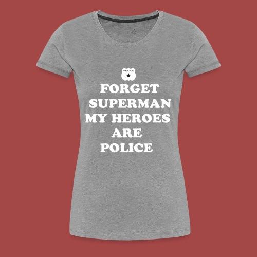 support police - Women's Premium T-Shirt
