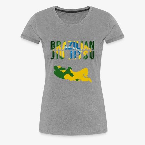 Brazilian Jiu Jitsu - Women's Premium T-Shirt
