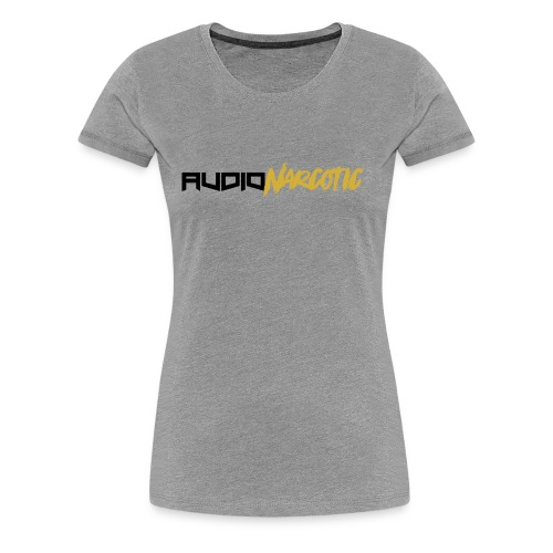 Audio Narcotic Gold - Women's Premium T-Shirt