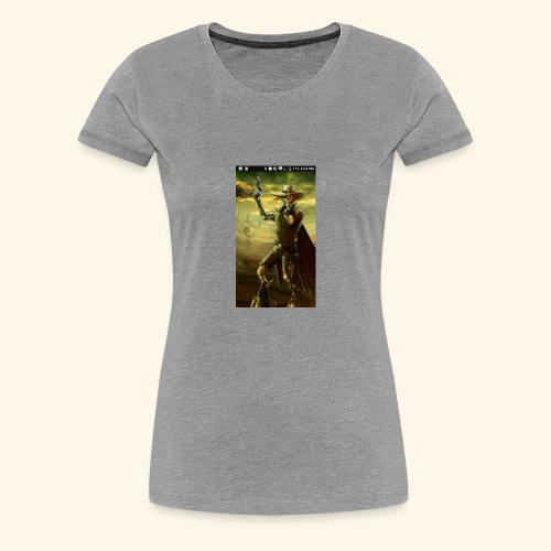GUN SLINGER CYBORG MERCH - Women's Premium T-Shirt