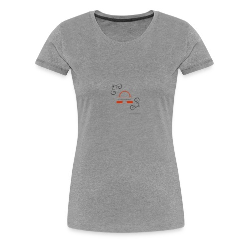 Crazyjoegrover logo - Women's Premium T-Shirt