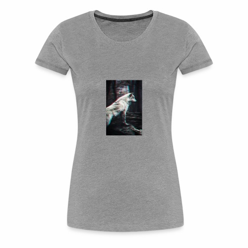 Vigorous Wolf - Women's Premium T-Shirt