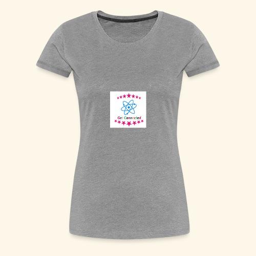 Get Connection - Women's Premium T-Shirt