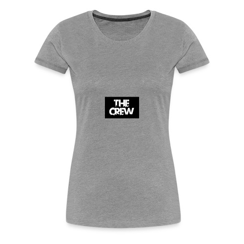 the crew logo - Women's Premium T-Shirt