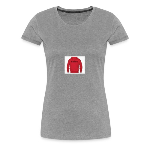 KidBallerz - Women's Premium T-Shirt