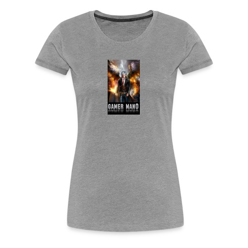 gamer man0 - Women's Premium T-Shirt