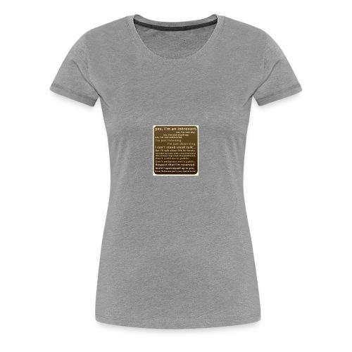 D72D8388 934F 4221 8864 66E8C7039F2A - Women's Premium T-Shirt