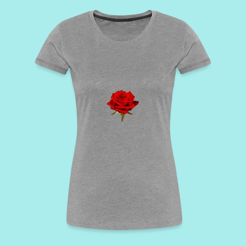 Rose For My Sweet - Women's Premium T-Shirt