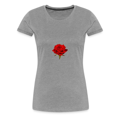 Rose For My Sweet - Women's Premium T-Shirt