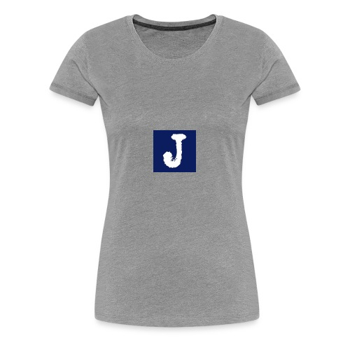 j logo big - Women's Premium T-Shirt
