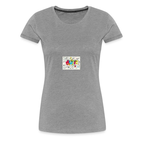 music banner - Women's Premium T-Shirt