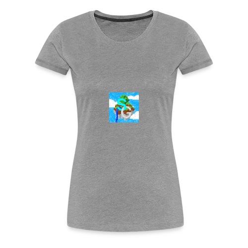 SkyGames Logo RETRO - Women's Premium T-Shirt