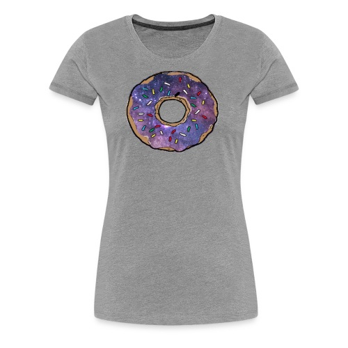 donut galaxy - Women's Premium T-Shirt