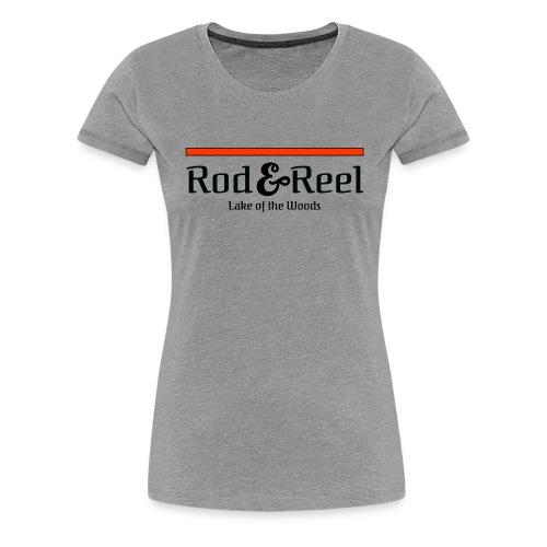 RodandReelSimple - Women's Premium T-Shirt