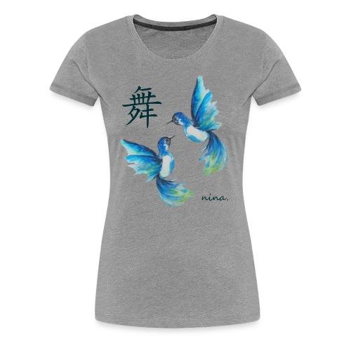 Hummingbirds - Women's Premium T-Shirt