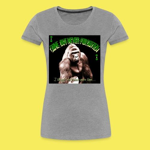 Remember Harambe - Women's Premium T-Shirt