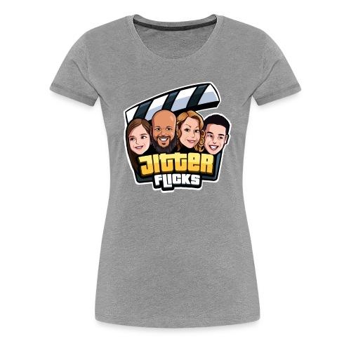 Jitter Flicks LOGO - Women's Premium T-Shirt