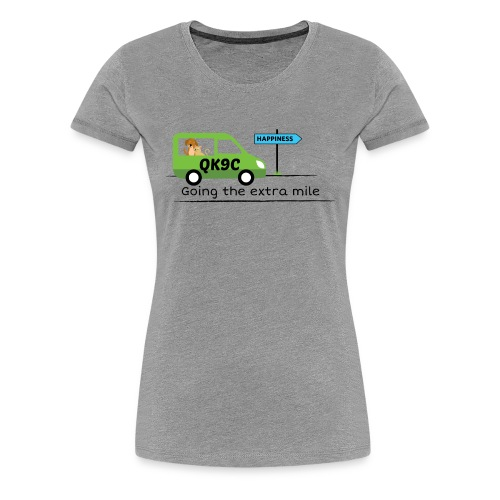 Going the extra mile - Women's Premium T-Shirt
