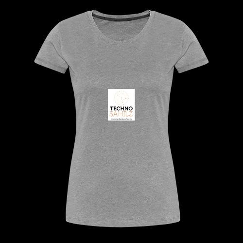 Techno Sahilz - Women's Premium T-Shirt