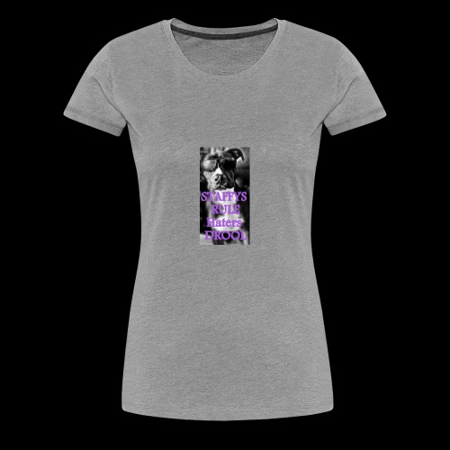 HATERS DROOL! - Women's Premium T-Shirt