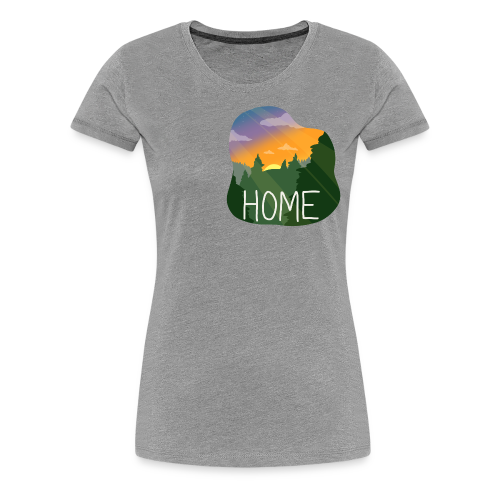 Home - Women's Premium T-Shirt