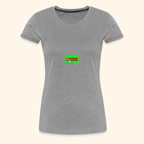 SUSCRIBE MERCH - Women's Premium T-Shirt