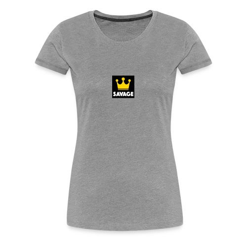 savage - Women's Premium T-Shirt