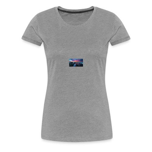 Beautiful Sunset - Women's Premium T-Shirt