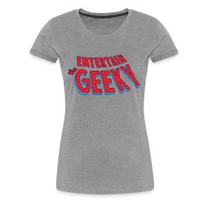 Logo Color 1144x653 - Women's Premium T-Shirt