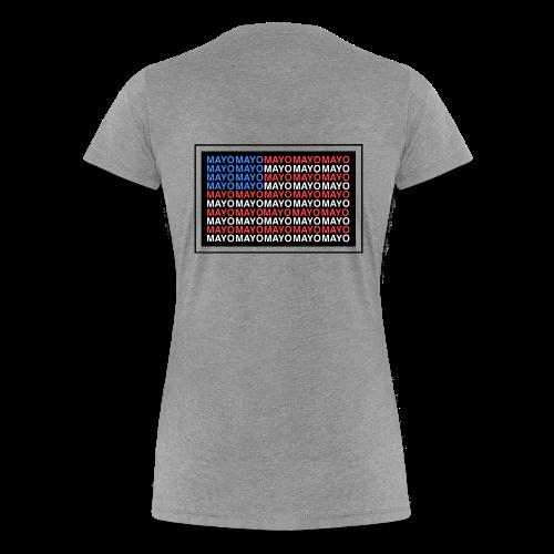 Mayo AMERICAN logo - Women's Premium T-Shirt