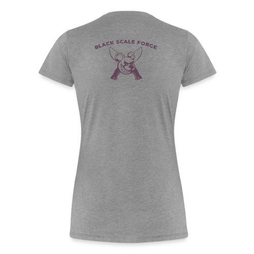 BSK Amok back - Women's Premium T-Shirt