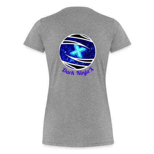Dark NinjaX clothing logo - Women's Premium T-Shirt