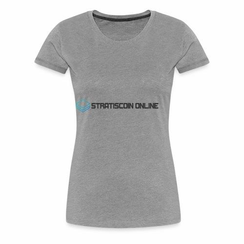 stratiscoin online dark - Women's Premium T-Shirt