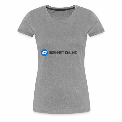 dashnet online dark - Women's Premium T-Shirt