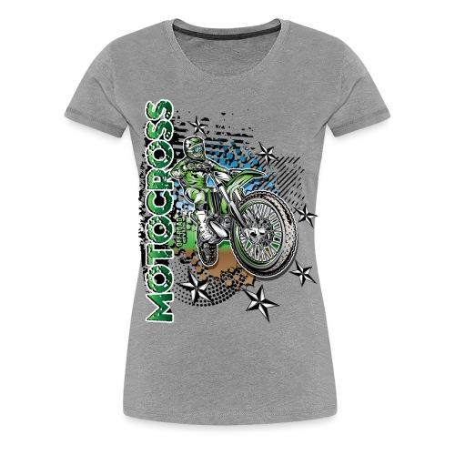Kawasaki Dirt Bike Shirt - Women's Premium T-Shirt