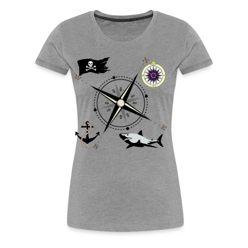 Nautical Designs - Women's Premium T-Shirt