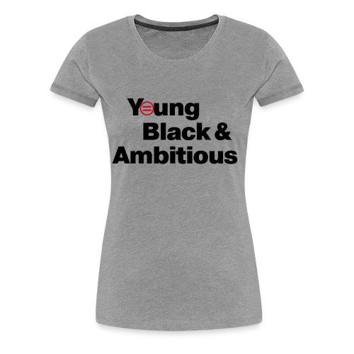 YBA white and gray shirt - Women's Premium T-Shirt