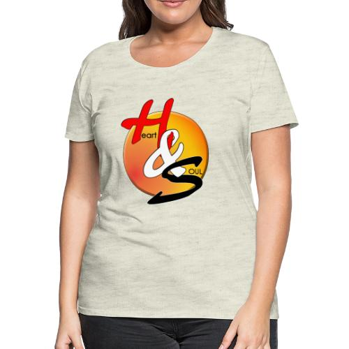 Rcahas logo gold - Women's Premium T-Shirt
