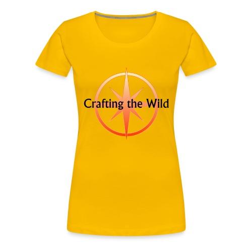 Crafting The Wild - Women's Premium T-Shirt