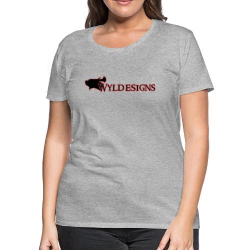 Wyldesigns Logo - Women's Premium T-Shirt