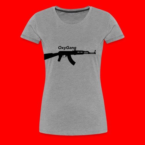 OxyGang: AK-47 Products - Women's Premium T-Shirt