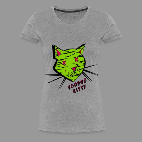 Voodoo Kitty - Women's Premium T-Shirt