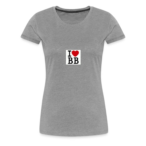 I Love BB - Women's Premium T-Shirt