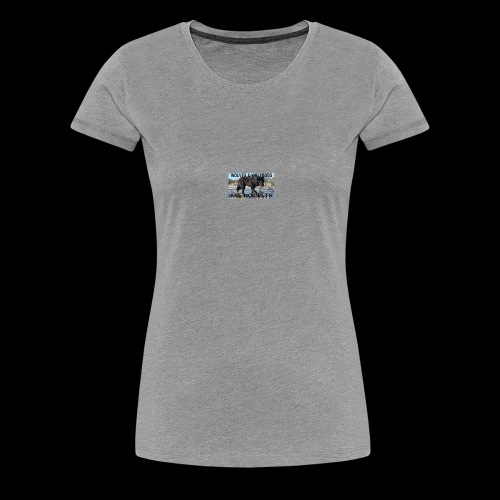 wolves and wolfdogs are not pets - Women's Premium T-Shirt