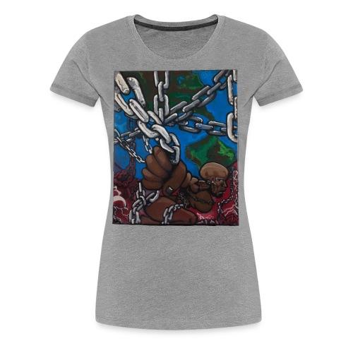 Weight of the World - Women's Premium T-Shirt