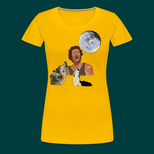 Bark at the moon - Women's Premium T-Shirt