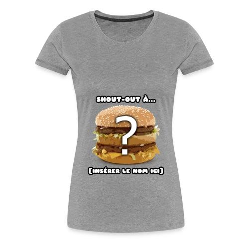 SOPHISTICATED - Women's Premium T-Shirt