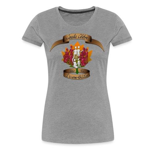 Friends With DiverseAbilities - Canada Celebre - Women's Premium T-Shirt