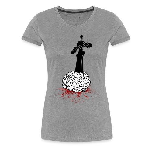 Sword in Brain - Women's Premium T-Shirt