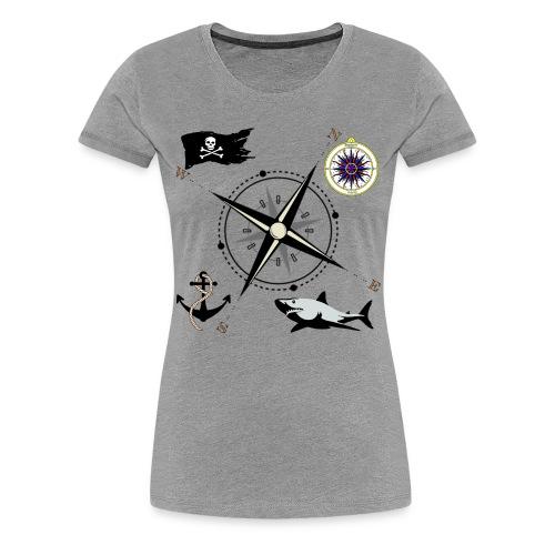 Nautical Designs - Women's Premium T-Shirt